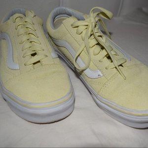 Yellow Suede Vans